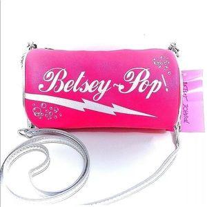 Betsey Johnson Bag Soda Pop Can Purse New